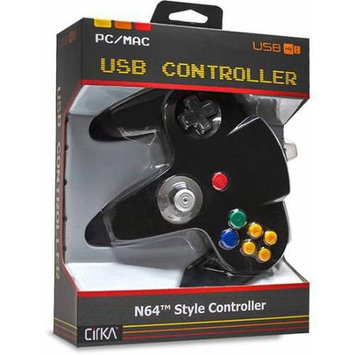 Hyperkin Cirka N64 USB Controller (Black)