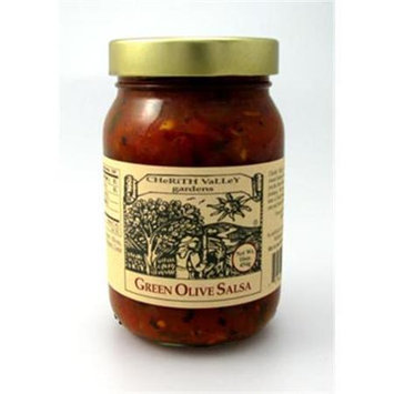 Cherith Valley Gardens OS16 Green Olive Salsa 16 oz