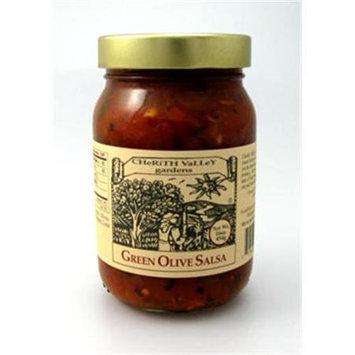 Cherith Valley Gardens OS16 Green Olive Salsa 16 oz
