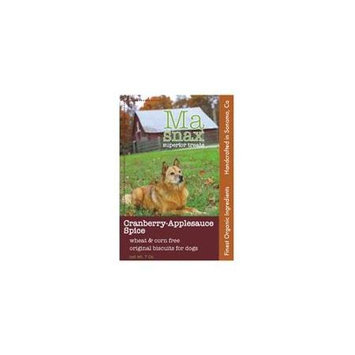 Ma Snax Wheat Free Dog Treat Cranberry Applesauce 7 oz