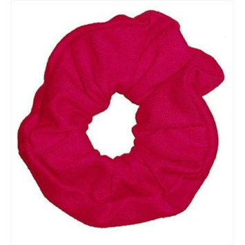 Coveryouhair CoverYourHair 61263 Soft Classy Solid Scrunchy Hot Pink