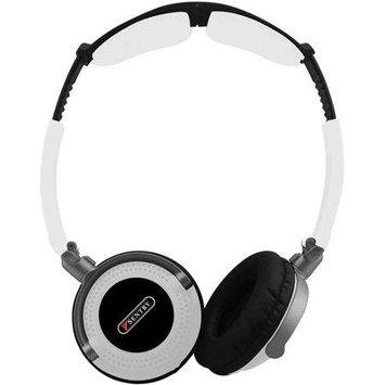 Sentrysafe Headphone, full Size, white - Folding, rubber Finish - Ho406