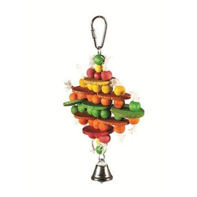 Caitec Bird Toy Abacus 4.5in x 6in
