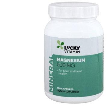 LuckyVitamin - Magnesium 500 mg. - 100 Capsules