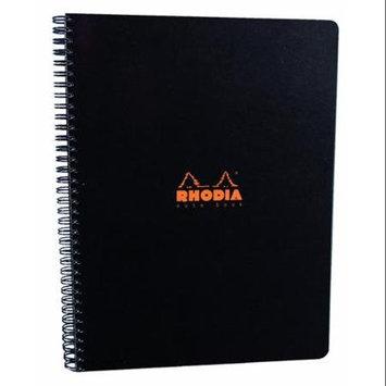 Rhodia Wirebound Black 4 Color Book 9 x 11 3/4