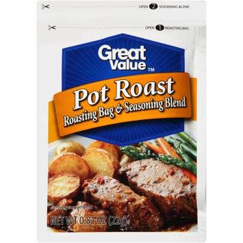 Great Value: Pot Roast Roasting Bag & Seasoning Blend, .81 oz