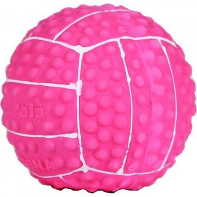 Horseloverz Li'L Pals Latex Volleyball Dog Toys