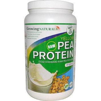 Growing Naturals Pea Protein Powder - Original Flavor - 32.2 oz