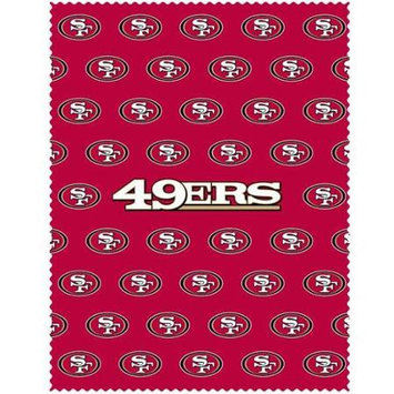 Siskiyou Sports FICC075 49ers iPad Microfiber Cleaning Cloth
