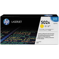 Hewlett Packard Q6472AG OEM Toner - HP 502A Government Color LJ 3600 ColorSphere Smart Print Cartridge Yellow (4000 Yield) (105/Pallet) (TAA Compliant version o
