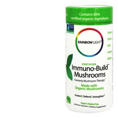 Certified Immuno Build Mushrooms Rainbow Light 60 Caps