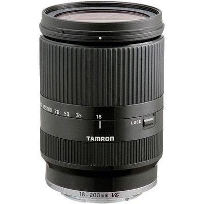 Tamron 18-200mm Di III VC Zoom Lens for Sony NEX Series - Black