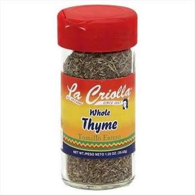 La Criolla 1.25 oz. Thyme Whle Tomillo Case Of 12