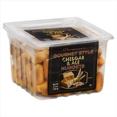 Angonoa's Angonoa 5.5 oz. Gourmet Style Cheddar & Ale Nuggets Case Of 12