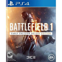 Battlefield 1 Early Enlisters Playstation 4 [PS4] (Deluxe Edition)