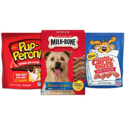 Milk Bone Milk-Bone, Pup-Peroni & Canine Carry Outs Meaty Flavor Variety Pack Dog Treats - 4.3 lb