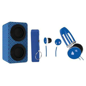 Naxa Nas3061ablue Portable Stereo Bluetooth[r] Speaker Pack [blue]