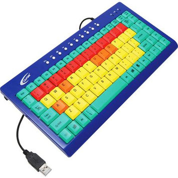 ErgoGuys Kids Computer Keyboard USB Color Coded Keys - KB1
