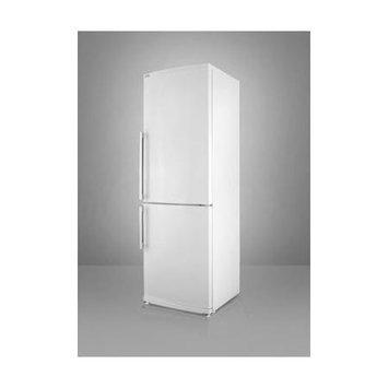 SUMMIT Full-sized refrigerator-freezer with ice maker, frost-free operation and bottom freezer