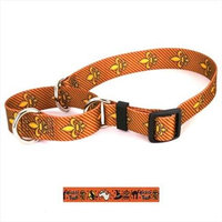 Yellow Dog Design Trick or Treat Martingale