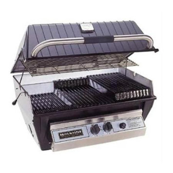 Broil-mate Broilmaster P3X-P3XN Premium Gas Grill with SS Rod Multi-Level Grids Natural