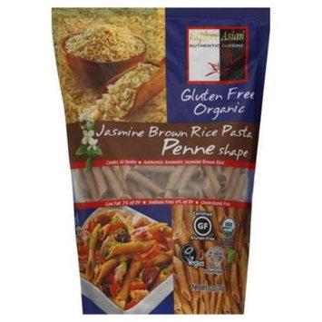Explore Asian Pasta Jasmine Brown Rice Penne Shape - 12 Oz. Pack Of 6