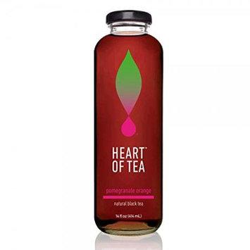 Heart Of Tea ICED TEA, POMGRNT ORANGE, (Pack of 12)