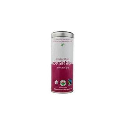 Nourish Tea Organic Earl Grey Black Tea The Duke of Earl 110 g