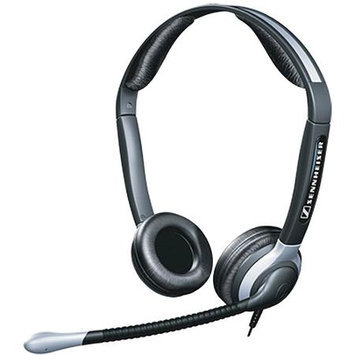 SENNHEISER CC520 LIGHTWEIGHT HEADSET WITH NOISE CANCELLING BOOM MICROPHONE