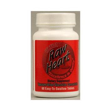 Ultra Enterprises - Raw Heart 200 mg. - 60 Tablets