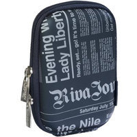 Rivacase Riva 7103 Pu Digital Camera Case Dark Blue/newspaper