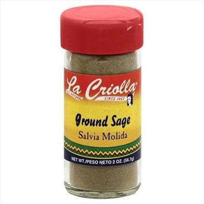 La Criolla 2 oz. Ground Sage Case Of 12