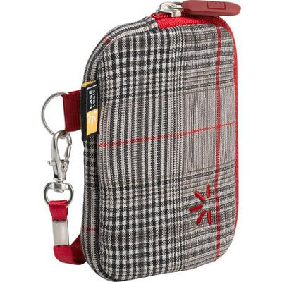 Case Logic Universal Small Trend Zipper Case, Red Plaid
