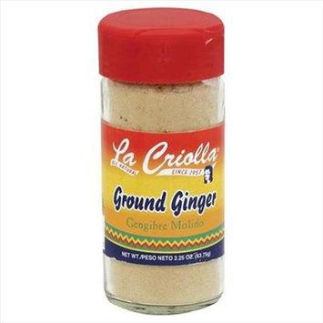 La Criolla 2.25 oz. Ground Ginger Case Of 12