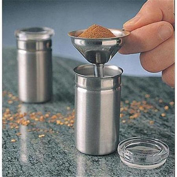 The Container Store Spice Funnel in Stainless Steel