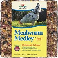 Manna Pro Mealworm Medley Poultry Treat 19.5 Oz.
