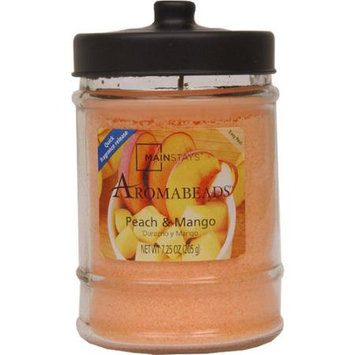 Jar Candle Peach & Mango Aromabeads Quick Release Fragrance 7.25oz