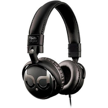 BELLO BDH821BKGP Over-Ear Headphone Graphite-Chrome