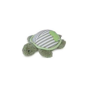 Worldwise Loved Ones Durable Turtle W/Treat Pocket Dog Toy-Green