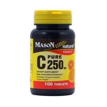 Mason Natural, Vitamin C 250 mg, 100 Tablets