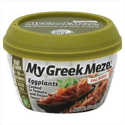 Palirria 10 oz. My Greek Meze Eggplants - Case Of 6