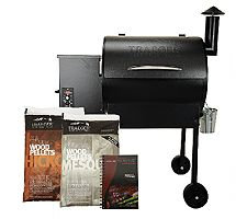 Traeger Wood Pellet Grills Traeger Lone Star 572 sq. in. Wood Fired Grill & Smoker