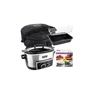 Ninja 4-in-1 6 qt. Multi-cooker w/Recipe Book & Travel Bag