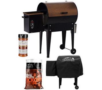 Traeger Wood Pellet Grills Traeger JR Elite 305 sq. in. Wood Fired Grill & Smoker