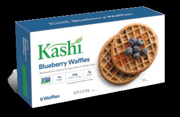 Kashi® Waffles Blueberry