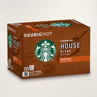 STARBUCKS® House Blend Rich & Lively K-Cups® Pods