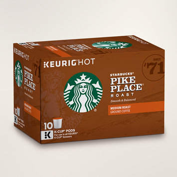 STARBUCKS® Pike Place® Roast Smooth & Balanced K-Cups® Pods