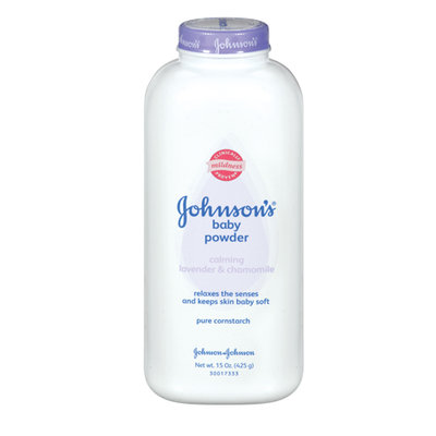 Johnson's® Baby Pure Cornstarch Powder with Calming Lavender & Chamomile