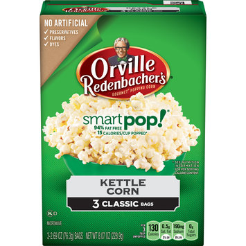 Orville Redenbacher's Gourmet Popping Corn Smartpop! Kettle Corn