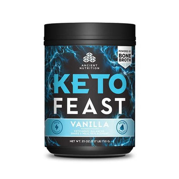 Ancient Nutrition Keto FEAST™ - Vanilla